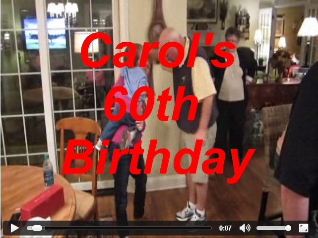 Carol's 60th Birthday