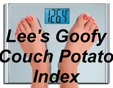 Lee's Goofy Couch Potato Index
