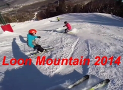 Loon Mountain Skiing February 2014