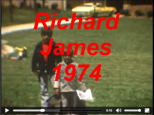 Richard and James Bethune 1974