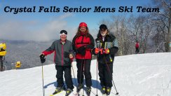 Crystal Falls Senior Mens Ski Team 2-27-2015