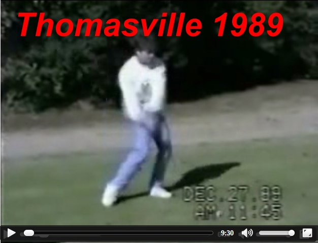 Thomasville Open Golf Tournament 1989